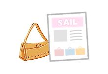 ショップや小売業での「今月のお得情報」 イベント 情報